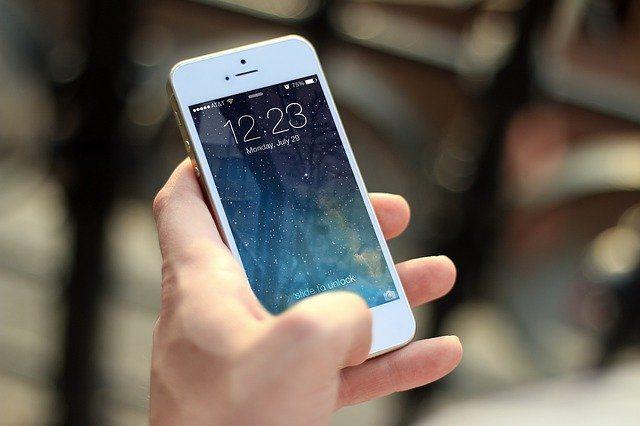 Bild på telefon